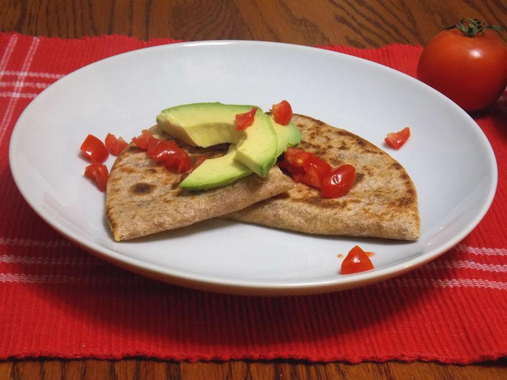 Cheese and Black Bean Quesadillas