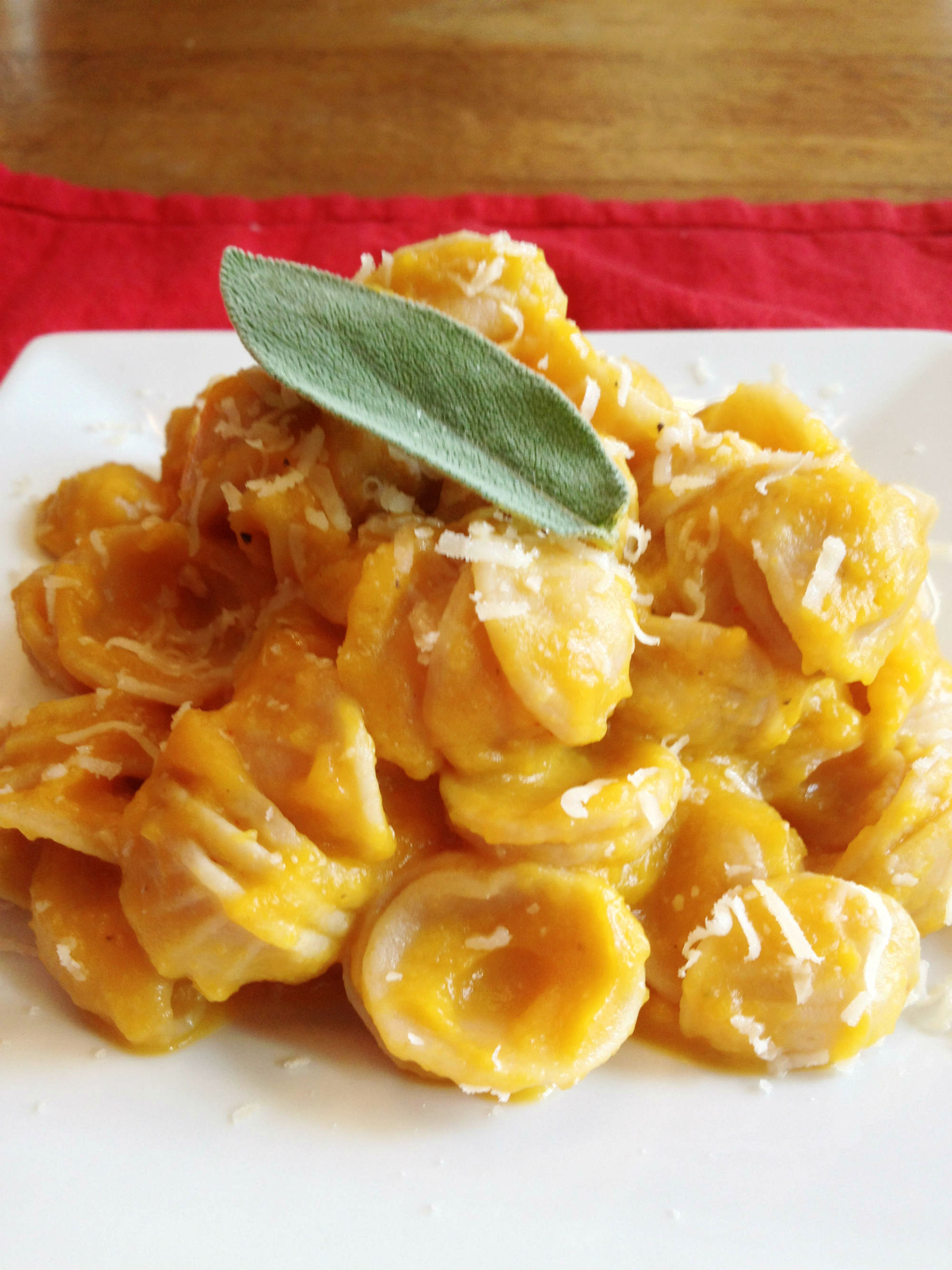 Butternut Squash Pasta | My Clean Kitchen