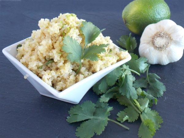 Cilantro Lime Quinoa!!!!