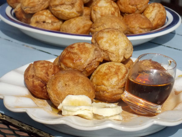 Clean Eating Whole Wheat Aebleskiver