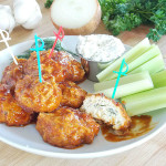 Buffalo Chicken Meatballs clean and healthy