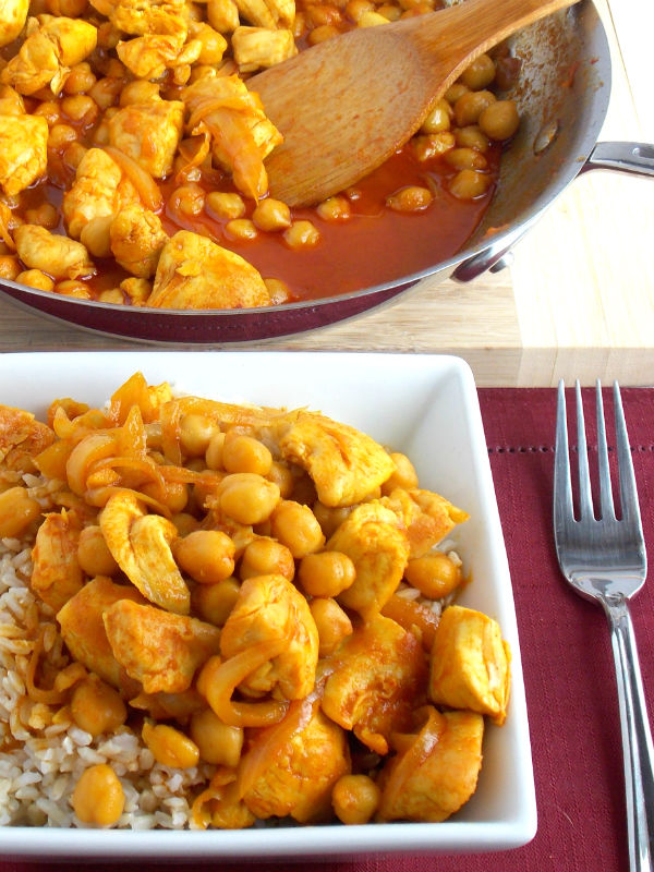Coconut Curry Chicken with Rice