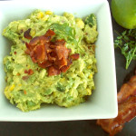 Roasted Corn and Bacon Guacamole Amazing!!!