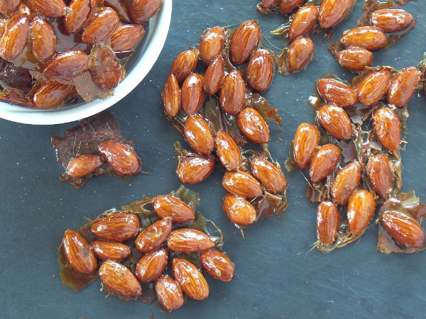 Roasted Almond Honey Clusters Yum!!!