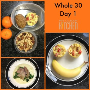 Whole 30 Day 1