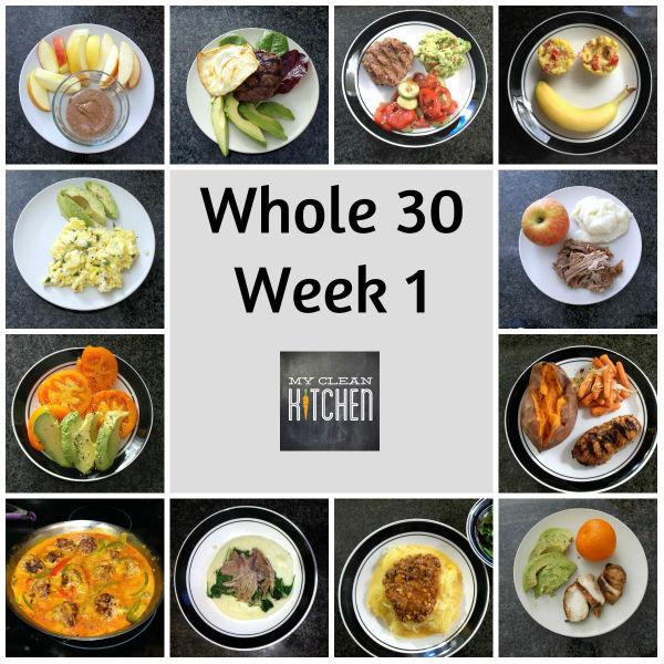 Whole 30 Week 1!!!