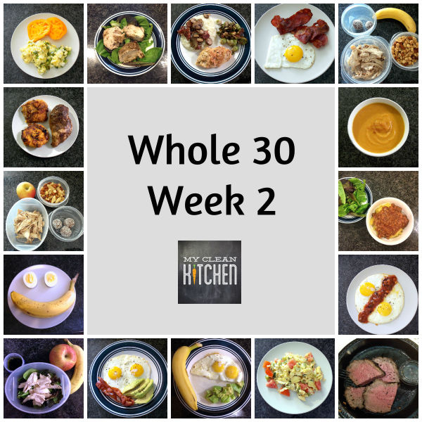My Clean Kitchen Whole 30 Week 2!!!