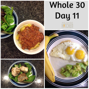 Whole 30 Day 11!!!