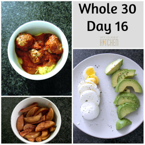 Whole 30 Day 16!!!