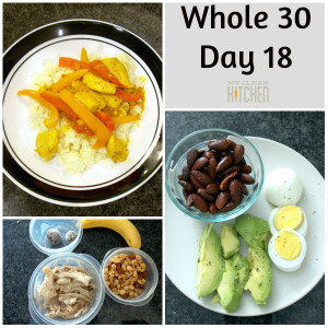 Whole 30 Day 18!!!