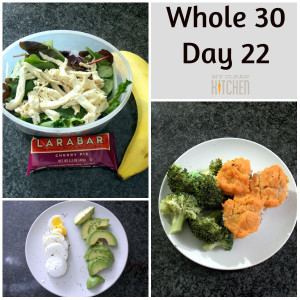 Whole 30 Day 22!!!