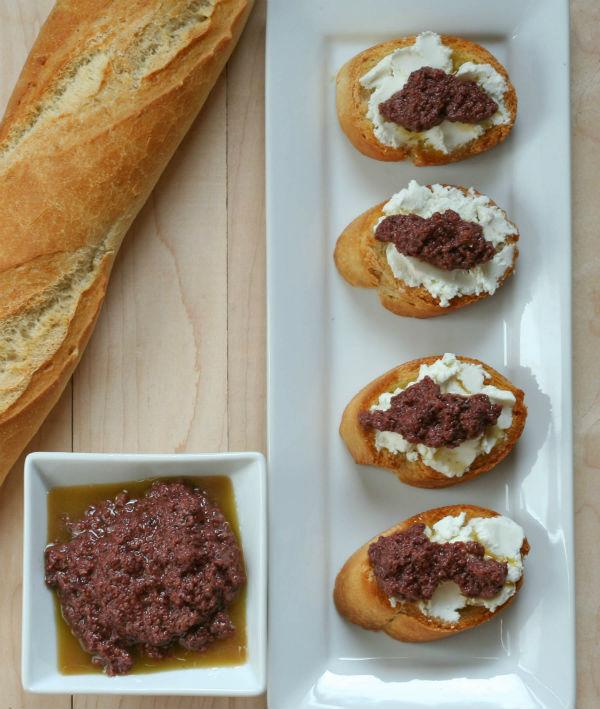 Olive Tapenade Bruschetta My CLean Kitchen