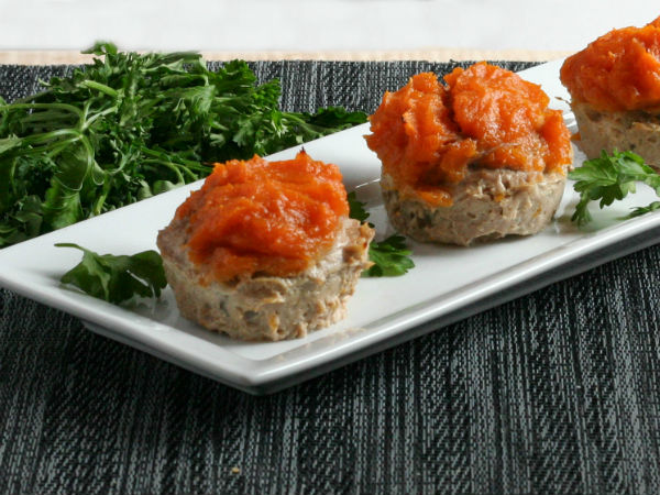 Mini Turkey Sweet Potato Meatloaves Yum!!!
