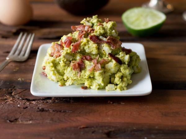 Whole30 Bacon Avocado Egg Salad